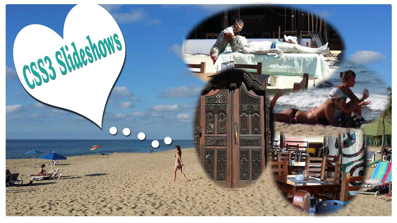Adobe Dreamweaver CC, CSS, Responsive Slideshows