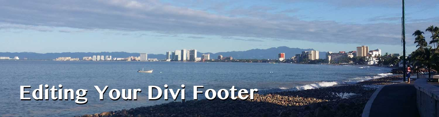 Editing Your Divi Footer